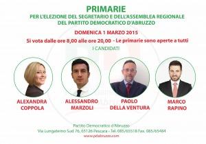 Primarie pd Abruzzo