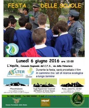 """Educazione ambientale """"Sorella Acqua"""", festa conclusiva del progetto della Forestale con le scuole"""