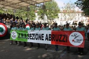 Raduno degli Alpini Ana Abruzzi, per ricordare la storia del Battaglione L'Aquila