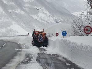 Emergenza neve in Abruzzo, dalla Protezione Civile Regionale aggiornamento meteo 7-8 gennaio