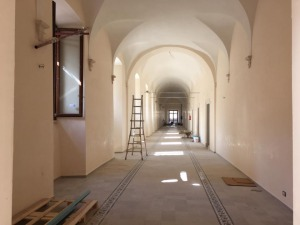 Edificio pronto ad accogliere il Rettorato