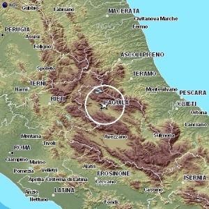 Scossa di terremoto del 3.3 nell'aquilano 