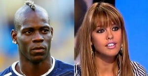 Balotelli e Vanessa Lawrens