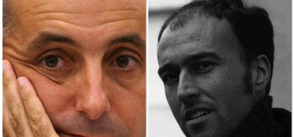 Gaetano Quagliariello (Pdl) e Americo Di Benedetto, presidente dei commercialisti aquilani