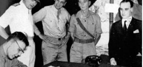 Firma armistizio WWII