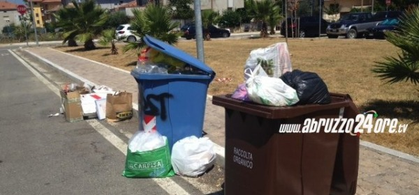 Alba Adriatica sporcizia