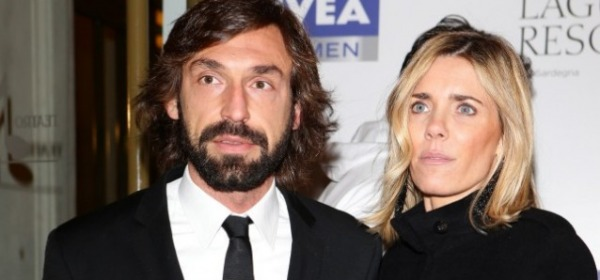 Andrea Pirlo e Deborah Roversi