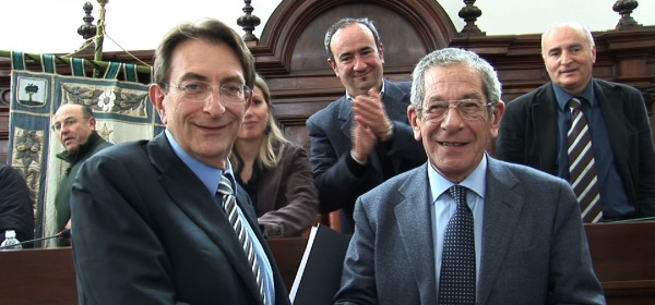 Massimo Cialente e Nicola Trifuoggi