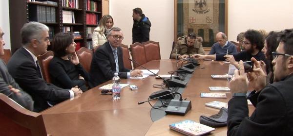 Lelio De Santis, conferenza stampa