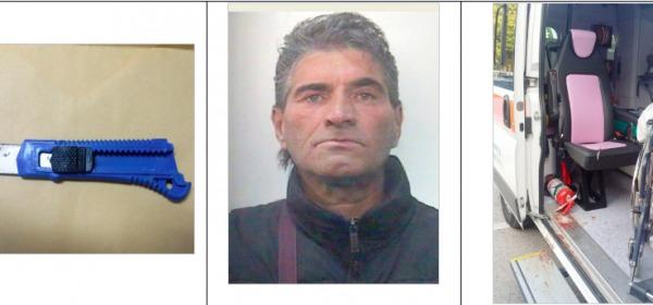Carlo Costantini e arma del delitto