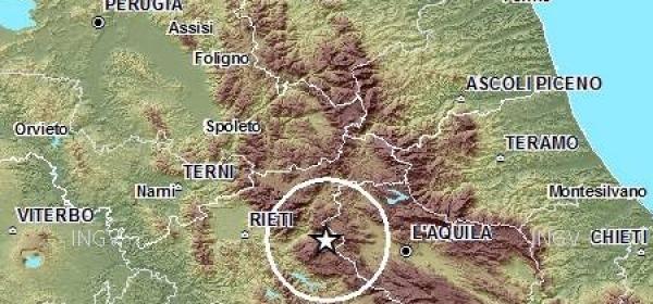 scossa terremoto Antrodoco