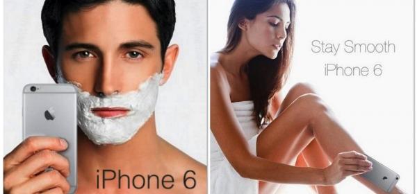 iPhone 6 strappa capelli e barba