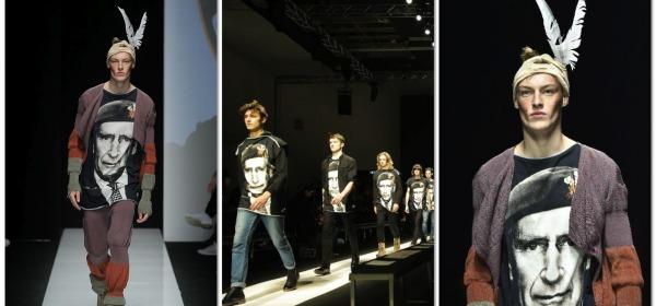 T-shirt Di Vivienne Westwood con Il principe Carlo
