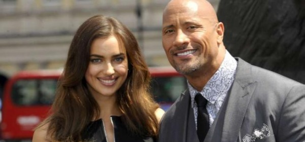 Irina Shayk e The Rock