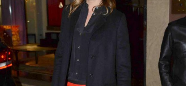 Alena Seredova alla Milano Fashion Week