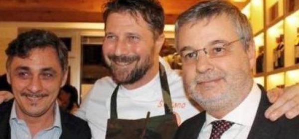 Stefano Callegaro, Massimo Barbin e Gianluca Sattin