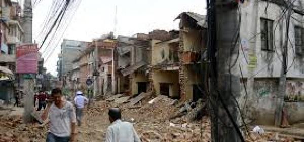 immagine terremoto nepal