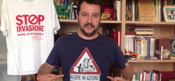 Matteo Salvini - foto da facebook