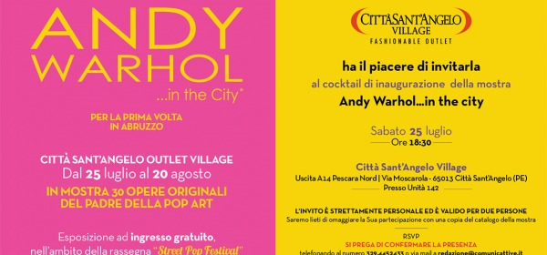 Andy Warhol…in the city