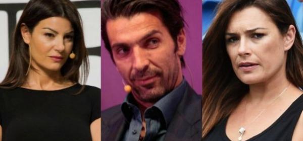 Ilaria D'Amico, Gigi Buffon e Alena Seredova