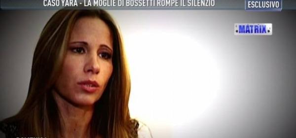 Marita Comi, la moglie di Bossetti a Domenica Live