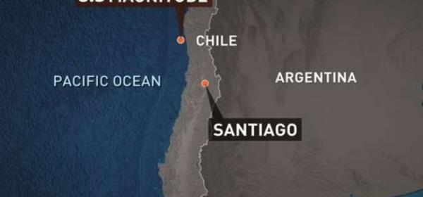 Scossa Cile