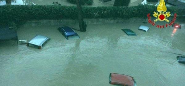 Alluvione a Benevento