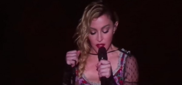 Madonna, Prayer for Paris (Stockolm, 14 Nov 2015)
