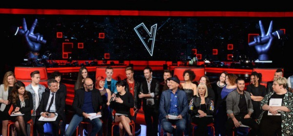 the voice of italy - foto da twitter