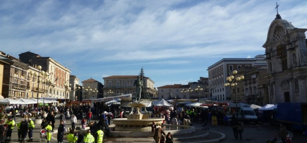 fiera in piazza Duomo