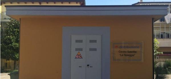 Enel, Centro satellite
