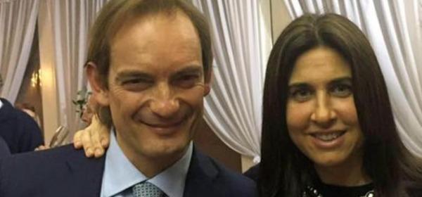 Matteo Cagnoni e la moglie Giulia Ballestri