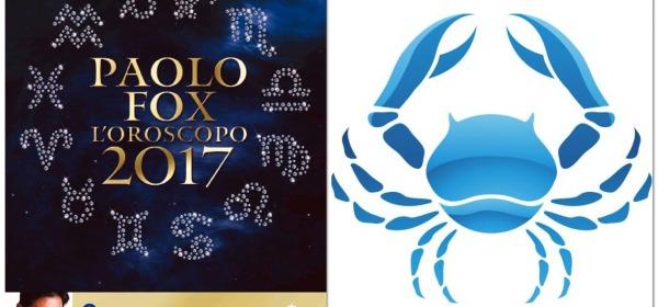 CANCRO - Oroscopo 2017 Paolo Fox