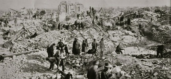 Terremoto del 1915 - foto di repertorio