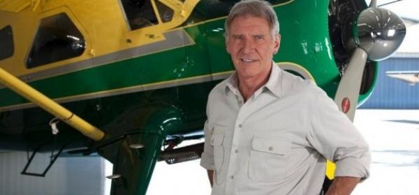 Harrison Ford, aereo - foto da twitter