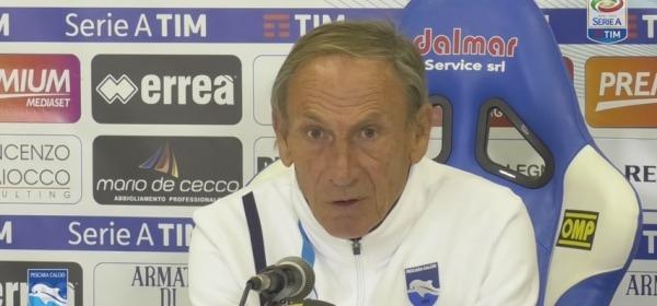 Pescara - Genoa 5-0, Zdenek Zeman