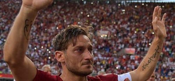 Totti - foto da facebook