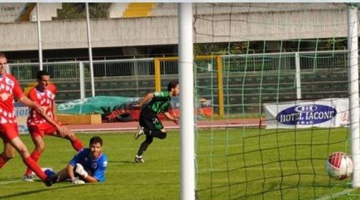 Il gol di Mungo al Gavorrano