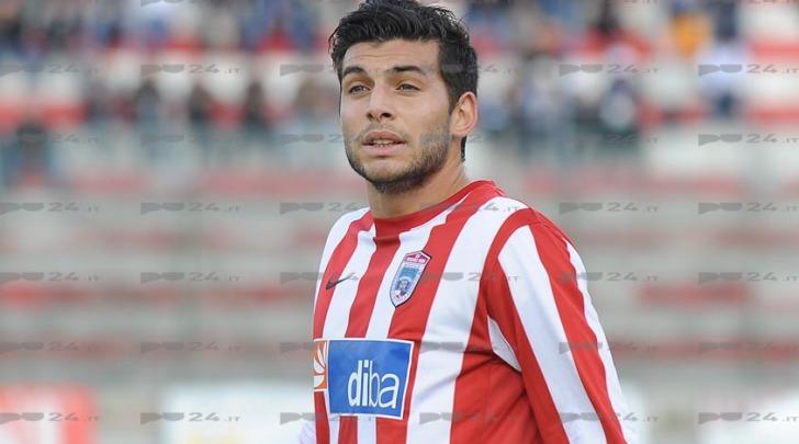 L'attaccante Luca Bellucci