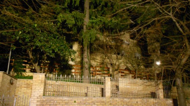 La casa famiglia in via Maiella teatro dell'incendio