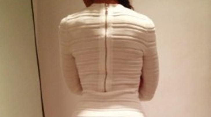 Nicole Minetti, vista sedere