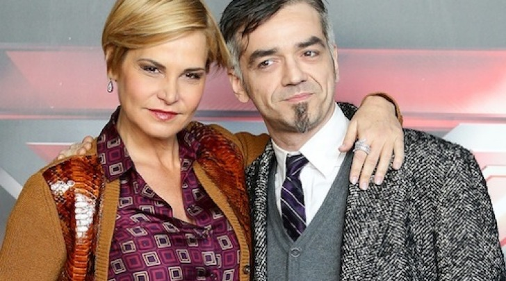 Simona Ventura e Morgan