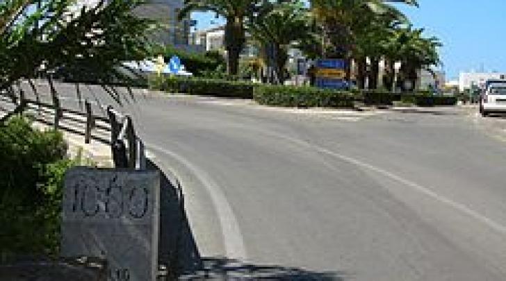 Un brave tratto della Statale 16 adriatica