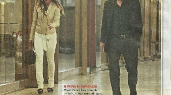 Rosy Dilettuso e Paolo Berlusconi