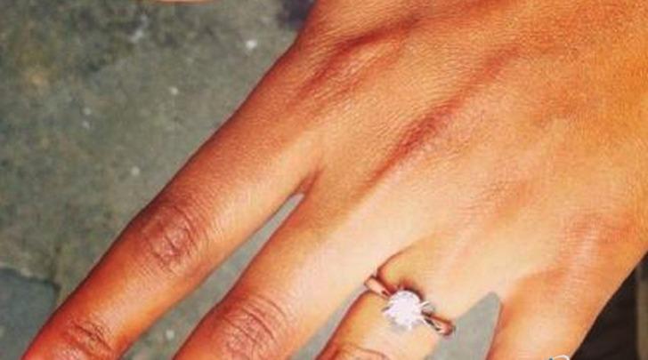 Mario Balotelli e Fanny Neguesha anello fidanzamento