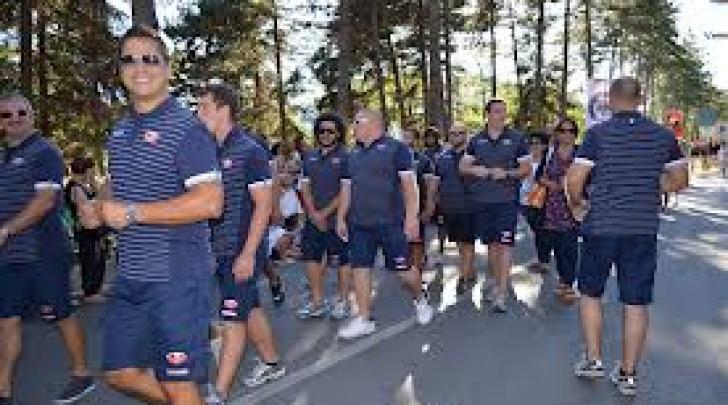 Gran Sasso Rugby durante la Predonanza 718