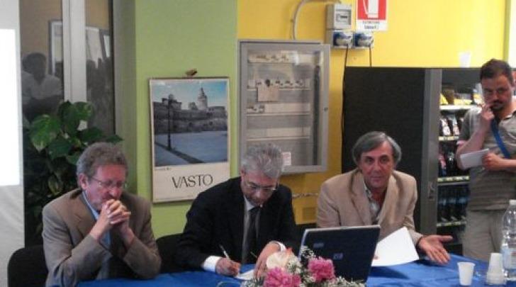Gianni Chiodi, Francesco Zavattaro e Luciano La Penna