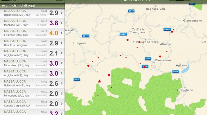 terremoto Massa
