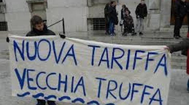 Immagine di una vecchia protesta