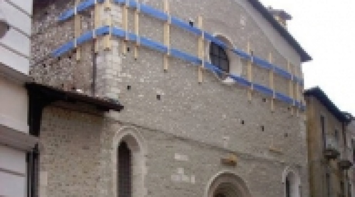 L'oratorio di San Giuseppe dei Minimi subito dopo il 6 aprile 2009